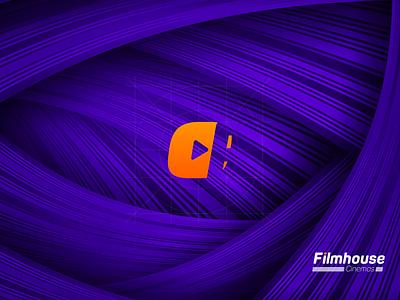 Branding & Logo Concept iconography icon branding concept copy cinema branding logo