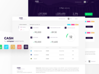 Octopus Cash - User dashboard