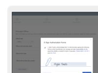 Payroll E-Signature Flow