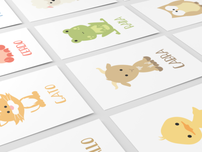 Farm Animal Flashcards