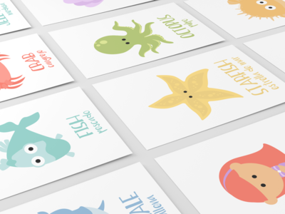 Sea Animal Flashcards