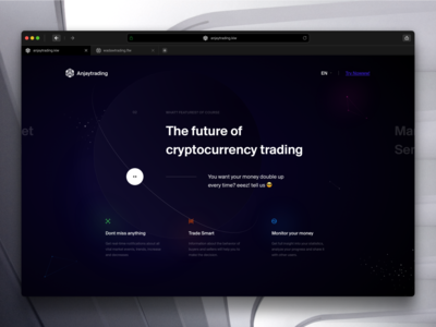 Cryptocurrency Trading Website 2 marketing website landing page crypto marketing crypto trading digital currency crypto exchange crypto currency crypto wallet bitcoin wallet bitcoin exchange bitcoin