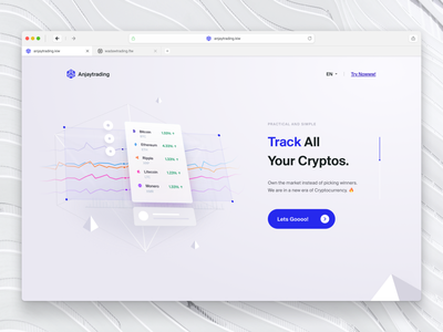 Cryptocurrency Trading Website 4 marketing website landing page digital currency crypto dashboard crypto exchange crypto wallet cryptocurrency bitcoin wallet bitcoin
