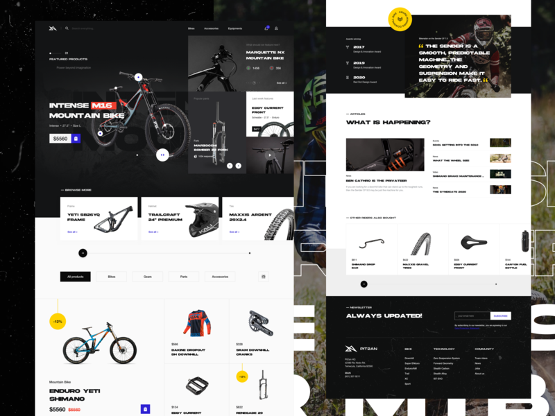 Mountain Bike Online Store Exploration 3 mountain bike bike store downhill online store online shop ecommerce