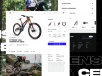 Mountain Bike Online Store Exploration 5 product page checkout online shop downhill bike mountain bike bike store ecommerce