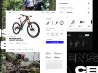 Mountain Bike Online Store Exploration 5 product page checkout online shop downhill bike mountain bike bike store ecommerce