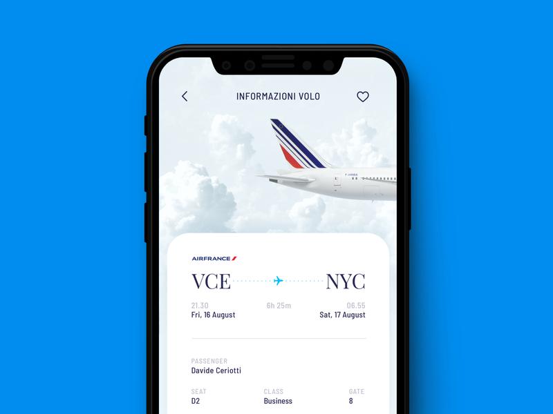 IL MILIONE CLUB - App flight travel app venezia airport