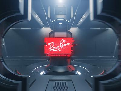 Ray-Ban Lenses App lenses ray-ban app 3d animation graphic design ui branding
