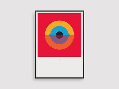 Vormentaal - Oog poster clean 2d holland simple netherlands art minimal geometric illustration dutch