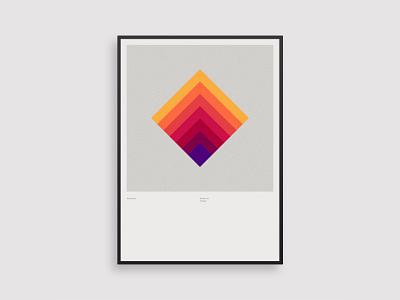 Vormentaal - Trapgat vector 2d holland art simple netherlands minimal geometric illustration dutch