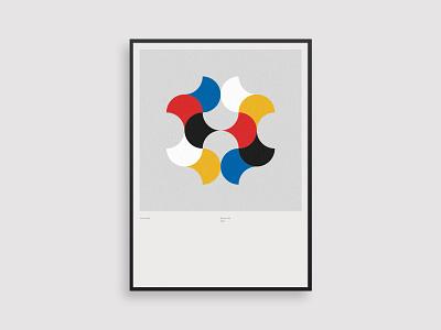 Vormentaal - Vlag clean 2d holland art simple netherlands minimal geometric illustration dutch