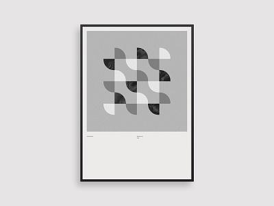 Vormentaal - Golf poster art simple holland 2d netherlands geometric minimal illustration dutch