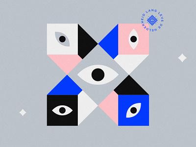Nora Hermans mark minimal patch badge hamsa eyes identity