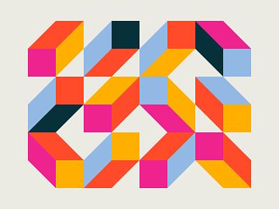 Geometric exploration modernism art 2d holland simple netherlands illustration dutch geometric minimal