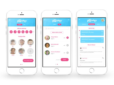 Baby Sitting App - Managing Kids and Their Schedules