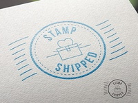 Stamp Shipped Logo