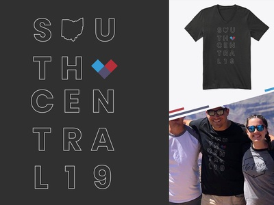 Youth Ministry T-Shirt - South Central 2019