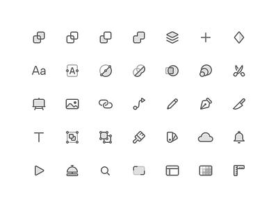 Sketch 70 — Toolbar Icons sketch big sur toolbar icons