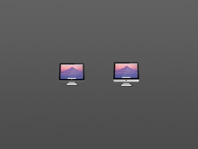 ACD / iMac icons icon 64px cinema display imac