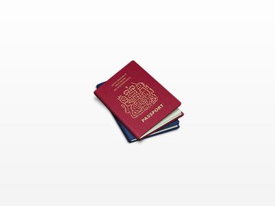 Passports passport icon
