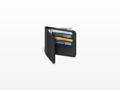 Wallet wallet cards icon