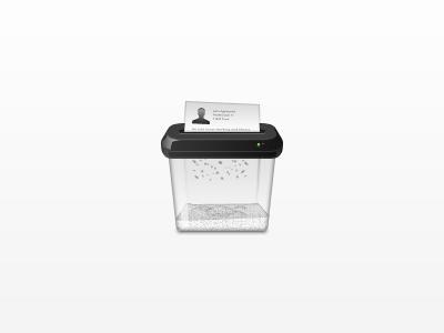 Paper Shredder shredder paper icon