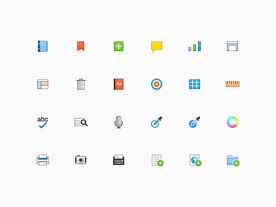 Toolbar Icons writing scrivener icons toolbar