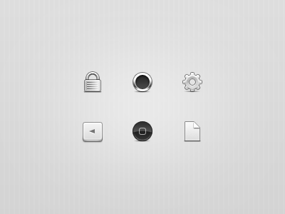 Monochrome Icons icons 32px monochrome