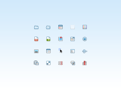 Sidebar Icons 16px sencha sidebar icons