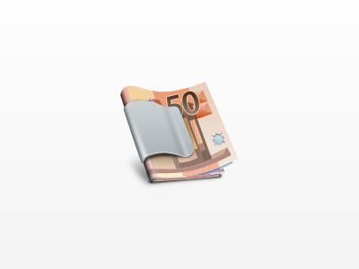 Money Clip money icon money clip