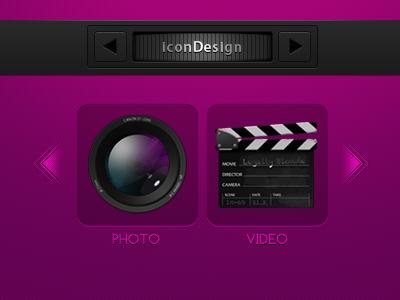 Portfolio icon design portfolio
