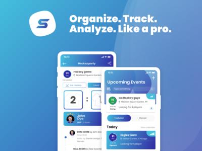 Scorentino - sport organizer & analyzer