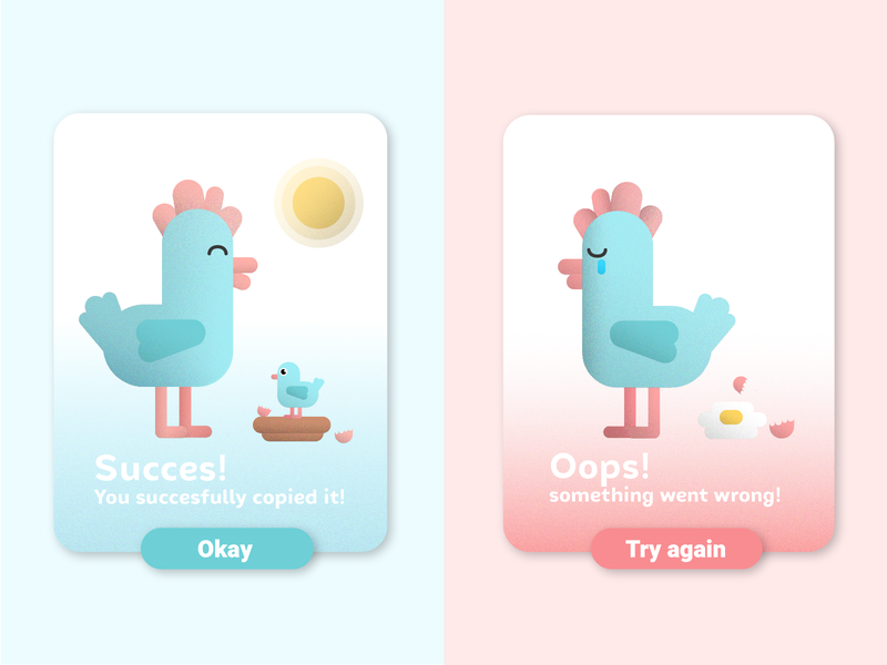 DailyUI #011 - Flash messages