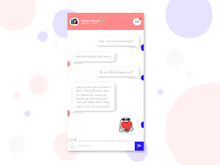 DailyUI #013 - Direct messaging