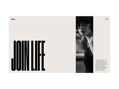 Fashion Website Design Direction fashion hero grid process web design minimal website typography ux ui