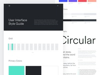 Personal Branding- User Interface Styleguide