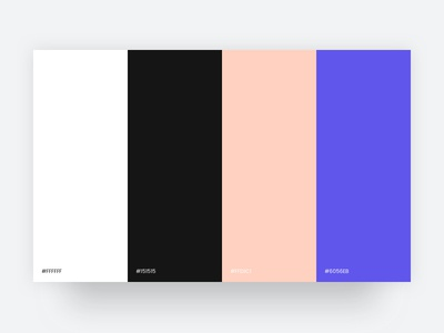 Fashion - Colour Palette fashion process ux ui branding webdesign palette colour scheme