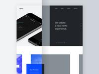 Agency - Wireframes