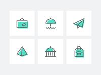 Traveler - Icon Set
