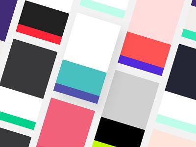🎨 Inspo - Color Inspiration Archive minimal fashion website colors colorscheme design app mobile app design mobile process color palette ui  ux