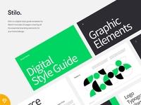 Stilo - Digital Style Guide Template
