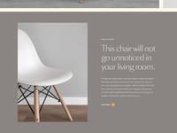 Forniture Page Transition