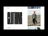 Fashion Website Slider