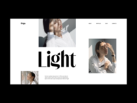 Photography Website Grid