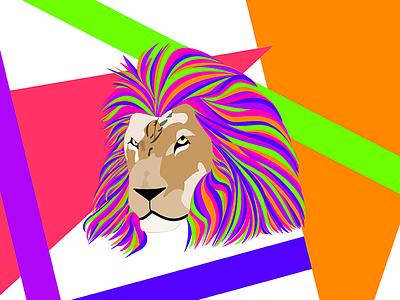 The Mane hair mane 90s animal lion