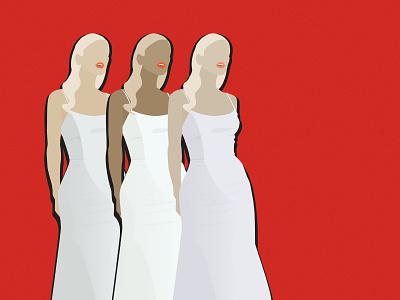xoxo illustration dress up female color