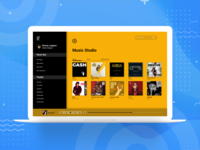 Desktop Music App + The Navigation Pane