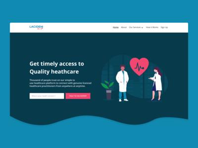 WIP - Lacidem Kit Landing Page