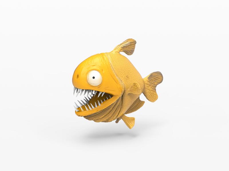 piranha zbrush