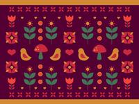 Woodland Folk Pattern